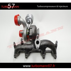 Turbo AUDI 1,9L TDI 105CV