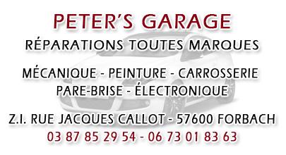 Garage Peter's à Forbach
